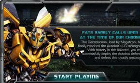 Transformers Oyunu Oyna