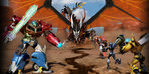 Transformers Prime Beast Hunters Oyunu