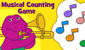 Barney'nin Notalarla Sayma Oyunu