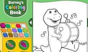 Barney Boyama Kitabı